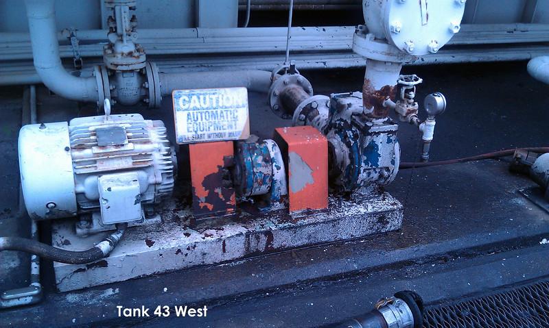 Conoco Tank 43 West Pump