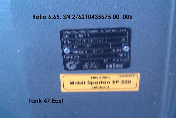 Conoco Tank 47 East Pump