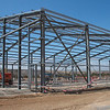 Commissioning Building steelwork almost erected