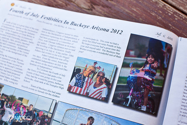 Gina Ooi Photography's photo is featured in The Buckeye Star, July 6, 2012.