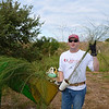 <div align=left>Curtis Short with Formosa Plastics Company, donated and helped plant 40 trees. Wow! <em>Photo credit: Peggy Wilkinson</em></div>
