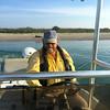 Calvin Jackson drove his Haynie boat.<br /> <br /> (Photo: Peggy Wilkinson)