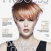 My artistry featured on the cover magazine The Best Color Process