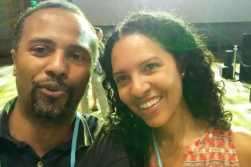 Kathy and Victorio at WorkHuman (05-31-17)