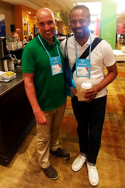 Joel Peterson and Victorio at WorkHuman (05-30-17)