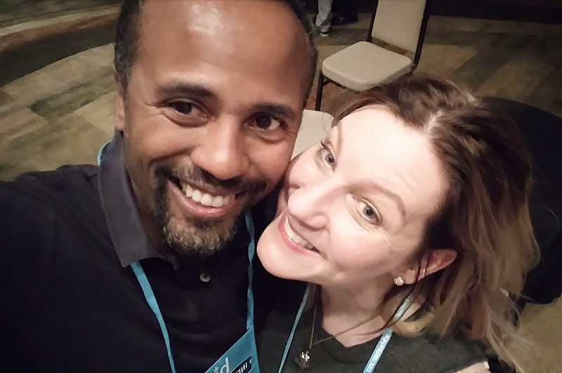 Carrie and Victorio at WorkHuman (05-31-17)
