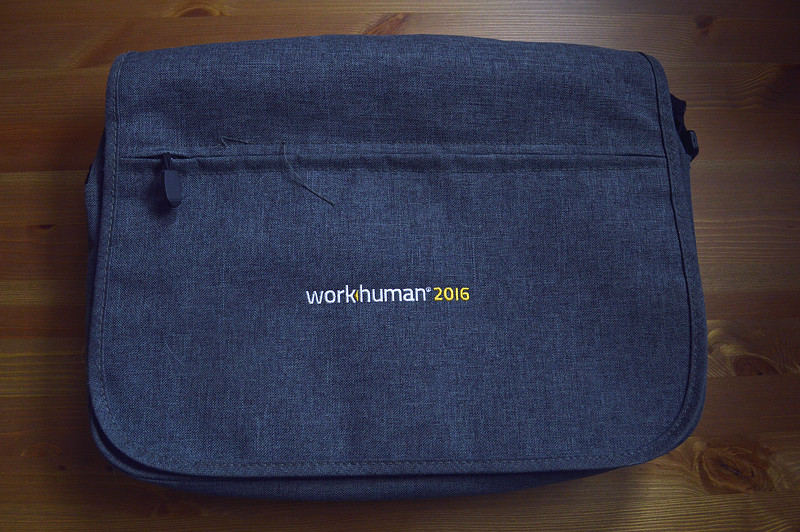WorkHuman 2016 Messenger Bag (03-30-18)