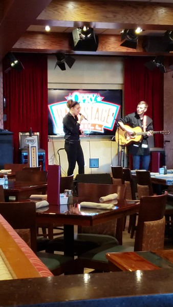 Singer Jaye Madison at Opry Grill (03-18-19)