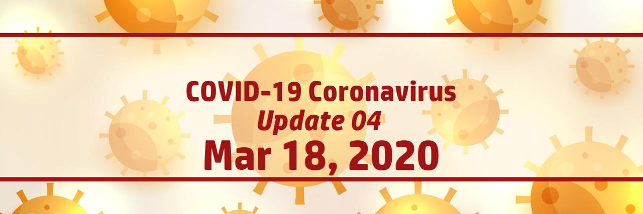 COVID-19 Coronavirus | Thailand | Update 04