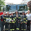 First-due crew of Ladder 8743