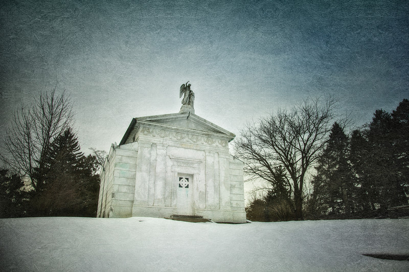 Gurnee Mausoleum. Old Dutch Church of Sleepy Hollow Churchyard and Sleepy Hollow Cemetery, Westchester County, New York