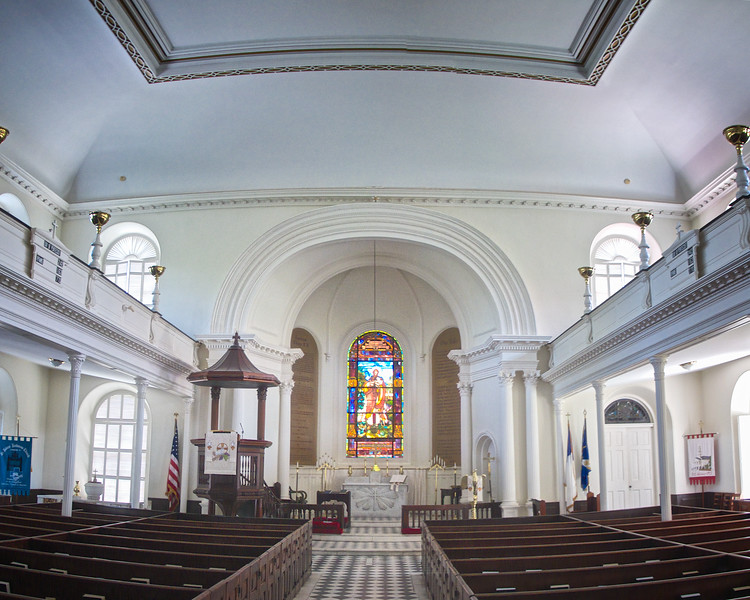 Charleston Churches: St. John's Lutheran Church, c. 1818, Charleston, South Carolina
