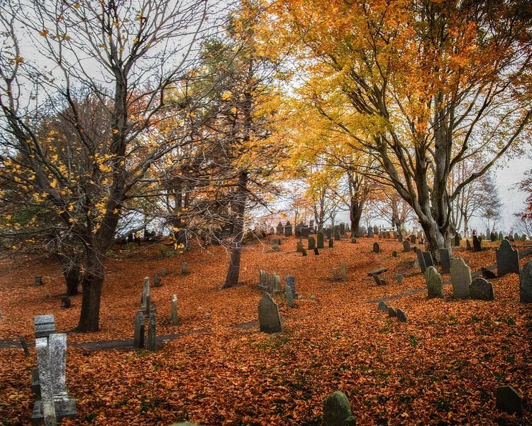 New England Landmarks: Burial Hill, Plymouth, Massachusetts