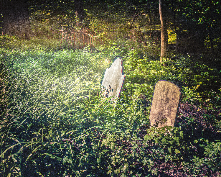 The Graveyard of Gersham Smith and Joseph Smith II, Head of the Harbor, Suffolk County, Long Island, New York