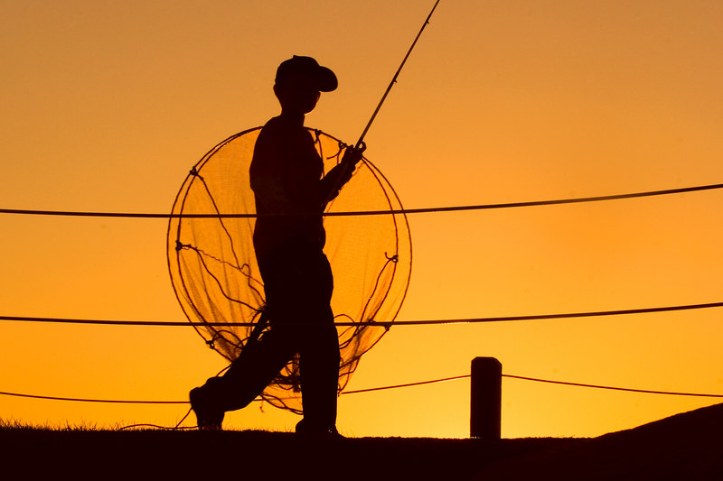 """Older Fisherboy,<br /> love the large net!<br /> <br /> <br /> Link to Daily Photo:<br /> The Fishermen Going Home<br /> After Sunset<br /> <br />  <a href=""""http://upacreekphotography.smugmug.com/gallery/1842481/1/112805344/Large"""">http://upacreekphotography.smugmug.com/gallery/1842481/1/112805344/Large</a>"""