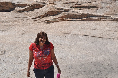 Mommy on Lemmon Mt