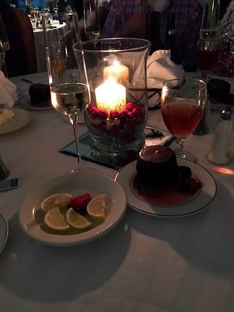 Table Setting Elegant Subdued Light