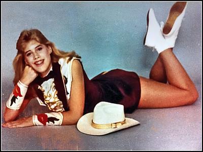 Tracie as a Tex Ann