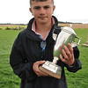 Young handler champion 14 year old Robbie Welsh.