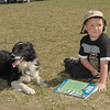 WORLD DOGS dog and boy