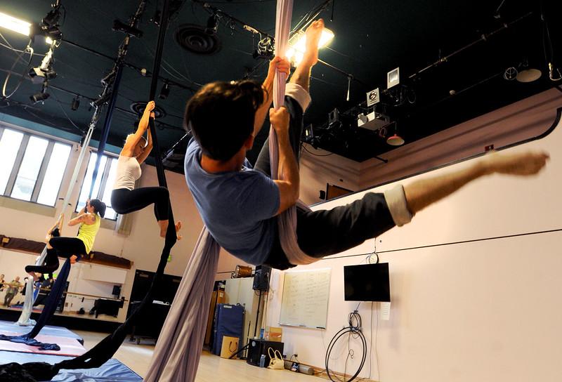 Aerial Silks Dance Workout of the Week