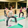 F0110WORKOUT5.jpg F1011WORKOUT5<br /> Cindy Heurta, in gray at front, leads the class in a Barre Bodies workout at the Mountainside Dance Studio in Longmont on Thursday, January 5th, 2012. <br /> <br /> <br /> Photo by: Jonathan Castner