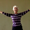 "Jo Ann Zender holds stones and lifts two stones upward in a strenghtening exercise during the Core Stone Yoga at the YMCA of Boulder Valley Arapahoe Branch on Thursday April 21, 2011.<br /> For more photos and a video of the class go to  <a href=""http://www.dailycamera.com"">http://www.dailycamera.com</a>.<br /> Photo by Paul Aiken / The Camera / <br /> Workout of the Week"