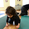 TODDLER_640.jpg Richie Ortiz-Mendez, 3, crawls around with his mother Amy Mendez during the Chillaxed Mommy and Toddler class Wednesday Jan. 30, 2013 at the The Family Garden Parenting and Resource Center, 600 Airport Rd., Longmont. (Lewis Geyer/Times-Call)