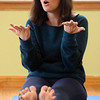 MOMMY_TODDLER_137.jpg Karyn Sullivan leads the Chillaxed Mommy and Toddler class Wednesday Jan. 30, 2013 at the The Family Garden Parenting and Resource Center, 600 Airport Rd., Longmont. (Lewis Geyer/Times-Call)