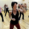 "Jill Factor, center,  teaches ""Classic Nia"" which means the Nia routines that are created by Nia Co-trainers Carlos and Debbie Rosas.<br /> Factor uses Nia music and Nia choreography. The classes are balanced in 5 sensations, flexibility- agility-mobility-strength and stability.<br /> For a video and more photos of the Nia workout, go to  <a href=""http://www.dailycamera.com"">http://www.dailycamera.com</a>.<br /> Cliff Grassmick  / August 2, 2012"
