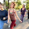"""during a dance walking session through downtown Boulder  on Wednesday September 19, 2012. <br /> For more photos of the Dancewalk go to  <a href=""""http://www.daiycamera.com"""">http://www.daiycamera.com</a><br /> Photo by Paul Aiken"""