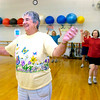 "Kitty Lewis laughs during the aerobic dance portion of the  Fitness for Life workout at the East Boulder Recreation Center on Tuesday August 18, 2009. Photo by Paul Aiken / The Camera / August 18, 2009<br /> VIDEO: Watch the Fitness for Life Workout at  <a href=""http://www.dailycamera.com"">http://www.dailycamera.com</a>.<br /> <br /> INLINE: FITNESS FOR LIFE WORKOUT OF THE WEEK AUGUST 2009"