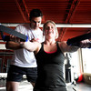 "Fortis Fitness owner and trainer Jeremiah Dargis works with Elizabeth Rao during a Fitwall workout class on Friday, Feb. 10, at the Fortis Fitness Training gym on Glenwood Drive in Boulder. For more photos and video of the class go to  <a href=""http://www.dailycamera.com"">http://www.dailycamera.com</a><br /> Jeremy Papasso/ Camera"
