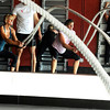 "Noelle Roshko, front left, and Brooke Davison, front right, work out with ropes while others work out on the wall during a Fitwall workout class on Friday, Feb. 10, at the Fortis Fitness Training gym on Glenwood Drive in Boulder. For more photos and video of the class go to  <a href=""http://www.dailycamera.com"">http://www.dailycamera.com</a><br /> Jeremy Papasso/ Camera"