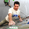 "Mark Hana works his way up a climbing wall during the Movement 101 class at Movement Climbing + Fitness in Boulder on Tuesday April 10, 2012<br /> For more photos and a video of class  go to  <a href=""http://www.daliycamera.com"">http://www.daliycamera.com</a><br /> April 10, 2012.<br /> Photo by Paul Aiken / The Camera"