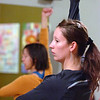 "Student Leigh Lamitola, at left, follows instructor Angela Gerardi in a pose during the Tao Power class at the Soul Tree Studio in Lafayette on Tuesday November 30, , 2010.<br /> Photo by Paul Aiken / The Camera For more photos and a video of the class go to  <a href=""http://www.dailycamera.com"">http://www.dailycamera.com</a>."