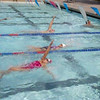 Trying out the drills and flowing the backstroke!