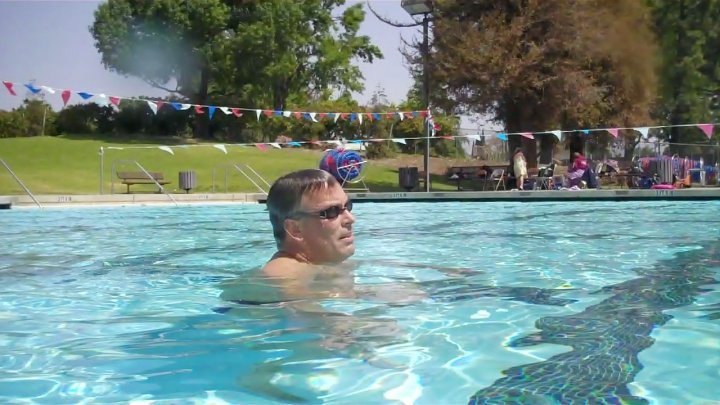 USMS VP of Administration, Michael Heather came to Simi Valley in search of backstroke secrets!