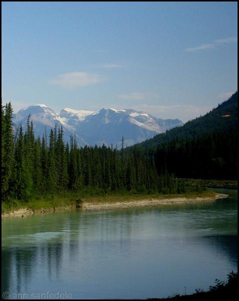 In the Canadian Rockies near Field, British Columbia