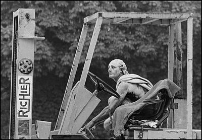 Forklift driver at Versailles