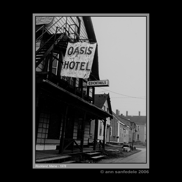 Oasis Hotel,  Rockport Maine