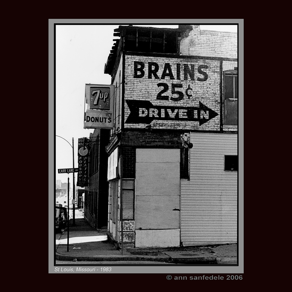 Brains, 25 cents