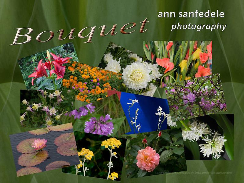 BOUQUET wall calendar cover
