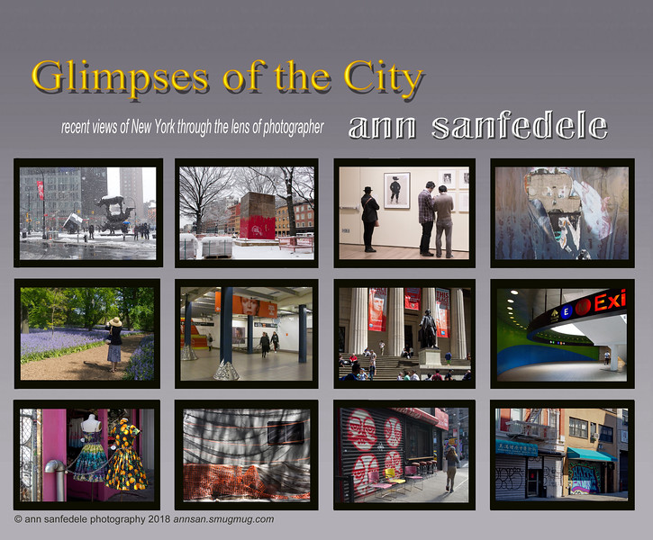 Glimpses of the City Cover