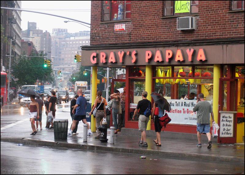 West Village Street Corner