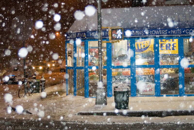 Another Snowy Night in the 'hood - January 11, 2011