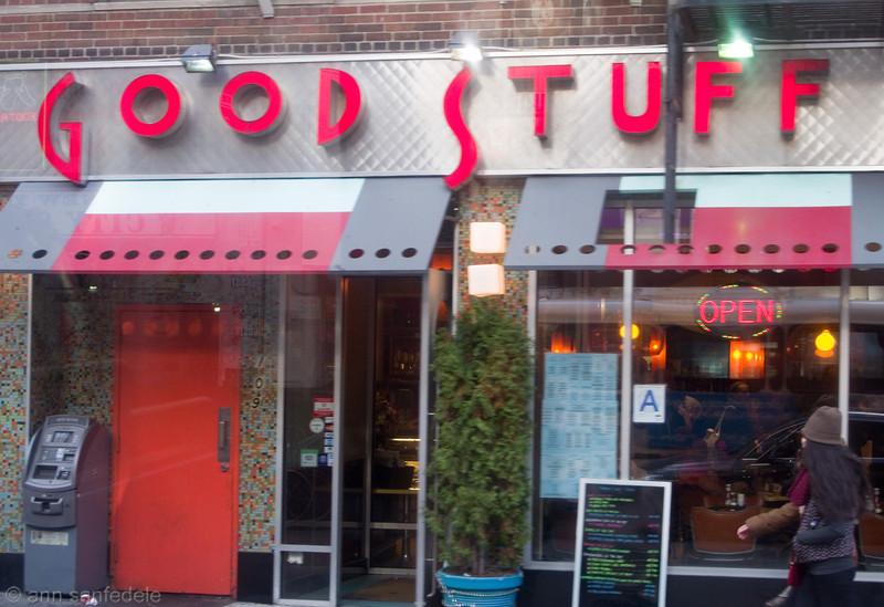 Good Stuff Diner on 14th St.