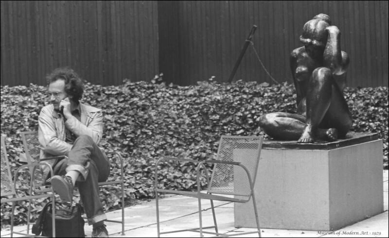 In the Garden of the Museum of Modern Art - 1979