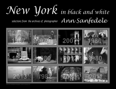 New York  in Black and White - NEW for 2015!