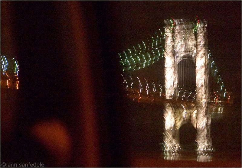 George Washington Bridge - grab shot from moving car